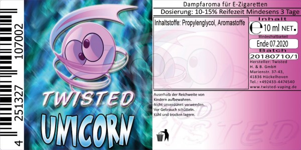 Twisted - Unicorn