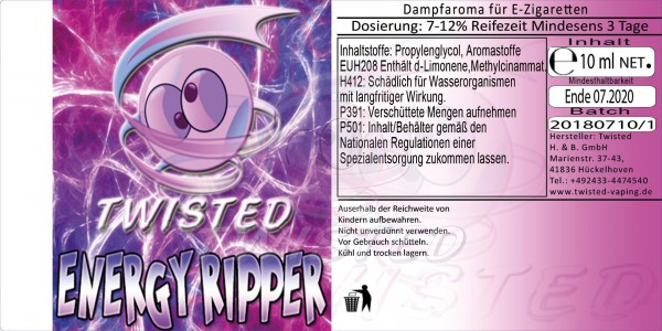 Twisted - Energy Ripper V2