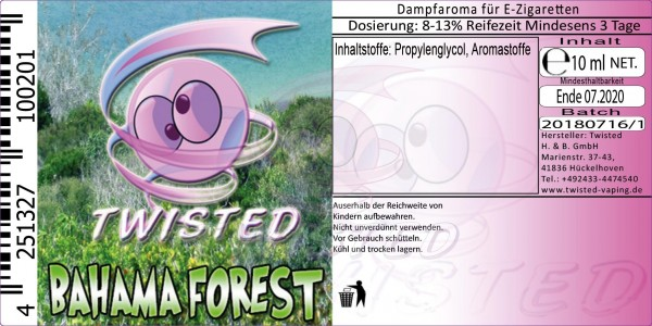 Twisted - Bahama Forest