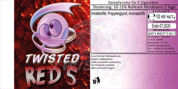 Twisted - Red 5