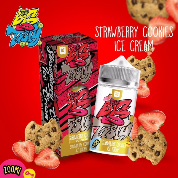 The Big 2 Tasty - Strawberry Cookies Ice Cream