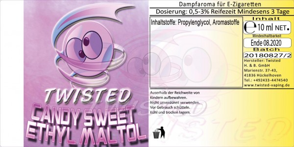 Twisted - Candy Sweet Ethyl Maltol