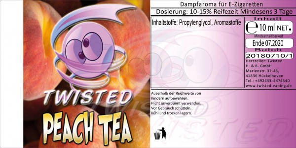 Twisted - Peach Tea