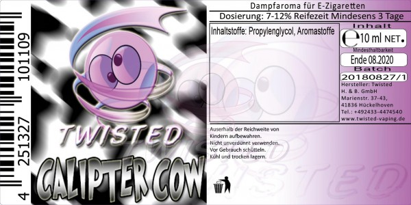 Twisted - Calipter Cow