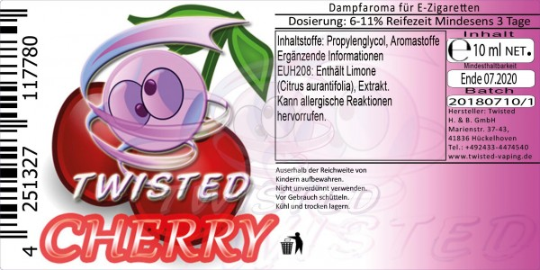 Twisted - Cherry