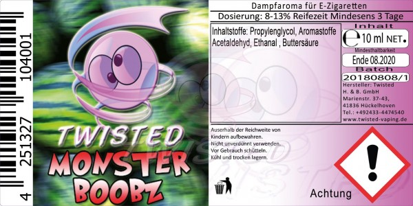 Twisted - Monster Boobz