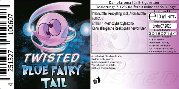 Twisted - Blue Fairy Tail