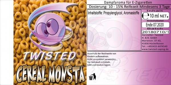 Twisted - Cereal Monster