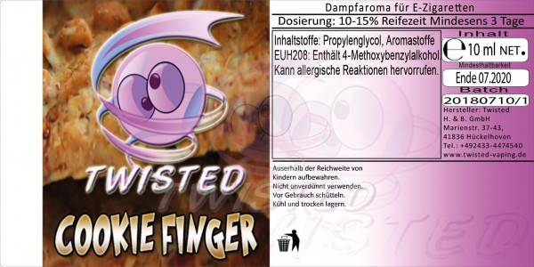 Twisted - Cookie Finger